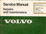 Volvo B27/B28 Engine Reconditioning Manual