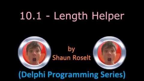 Delphi Programming Series 10