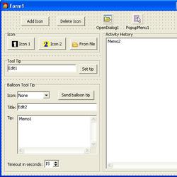 Shell NotifyIcon Example 1