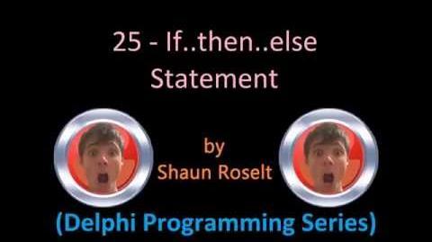 Delphi Programming Series 25 - If..then.