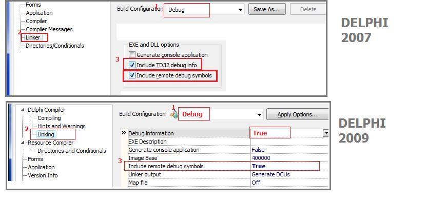Delphi project options remote debug2.jpg