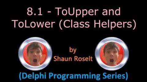 Delphi Programming Series. 8