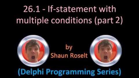 Delphi Programming Series 26