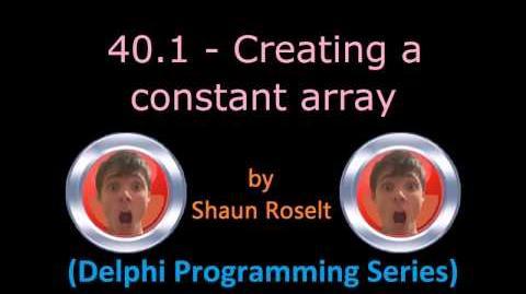 Delphi Programming Series 40