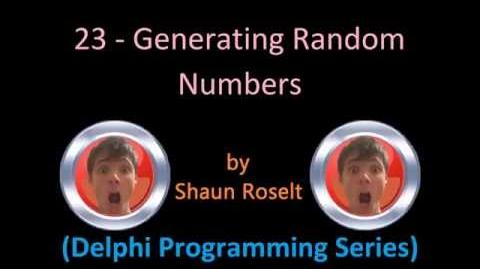 Delphi Programming Series 23 - Generating Random Numbers