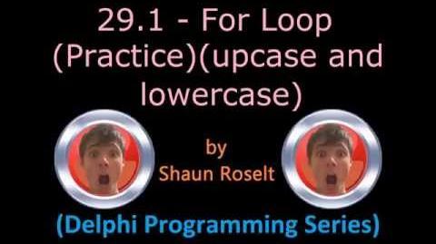 Delphi Programming Series 29