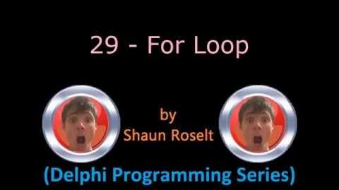 Delphi Programming Series 29 - For Loop