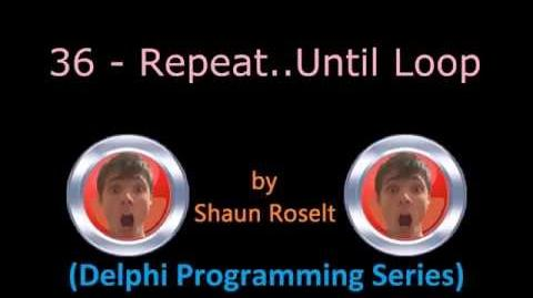 Delphi Programming Series 36 - Repeat.