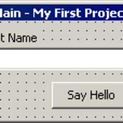 Creating your First Application