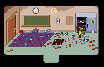 Salón sin uso