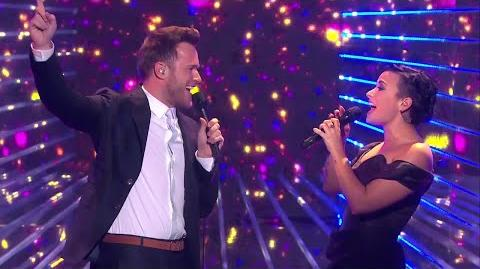 """Olly_Murs_&_Demi_Lovato_""""Up""""_guests_at_X_Factor_UK_2014"""