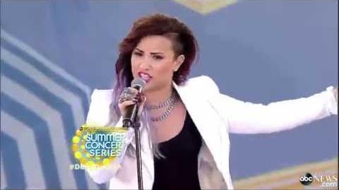 Demi Lovato - Heart Attack │LIVE On GMA 2014│