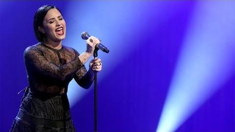 Demi Lovato Performs 'Stone Cold'