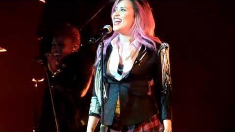 "Demi_Lovato_""Fire_Starter""_Performance_at_Neon_Lights_Tour_San_Jose"