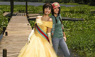 Princess Rosalinda with Carter Mason