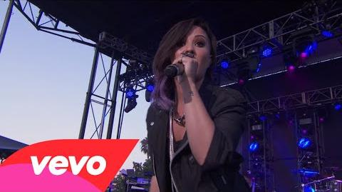 Demi Lovato - Really Don't Care (Tour Warm-Up Live from the Honda Stage)