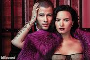 Demi and nick billboard