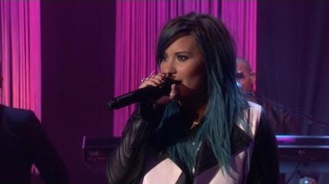 Demi Lovato performs 'Neon Lights' on The Ellen Show HD