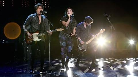 Demi Lovato and The Vamps Perform 'Somebody to You'
