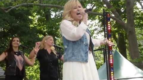 Demi Lovato - Really Don't Care - Good Morning America - HD (6 28 13)