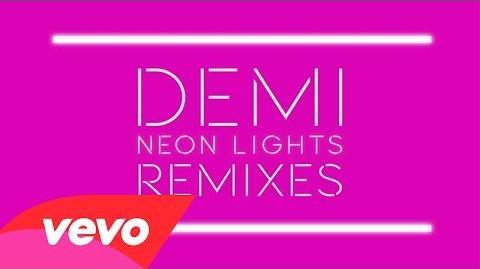 Demi Lovato - Neon Lights (Belanger Remix) (Audio)