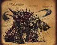 Dirty Colossus Artbook
