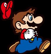 SMB Mario 6 Running Recolor