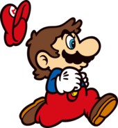 SMB - Mario 5 running