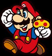 SMB Mario Artwork 1 (35. jähriges Jubiläum)