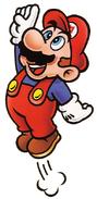 SMB Mario 7 Jumping Artwork