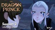 Der Prinz der Drachen - Staffel 3 - Offizieller Trailer - Netflix (Englisch)