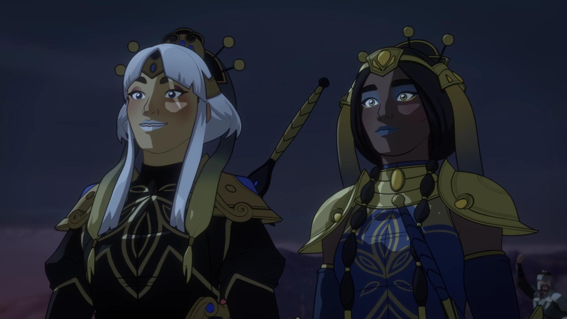 Annika und Neha