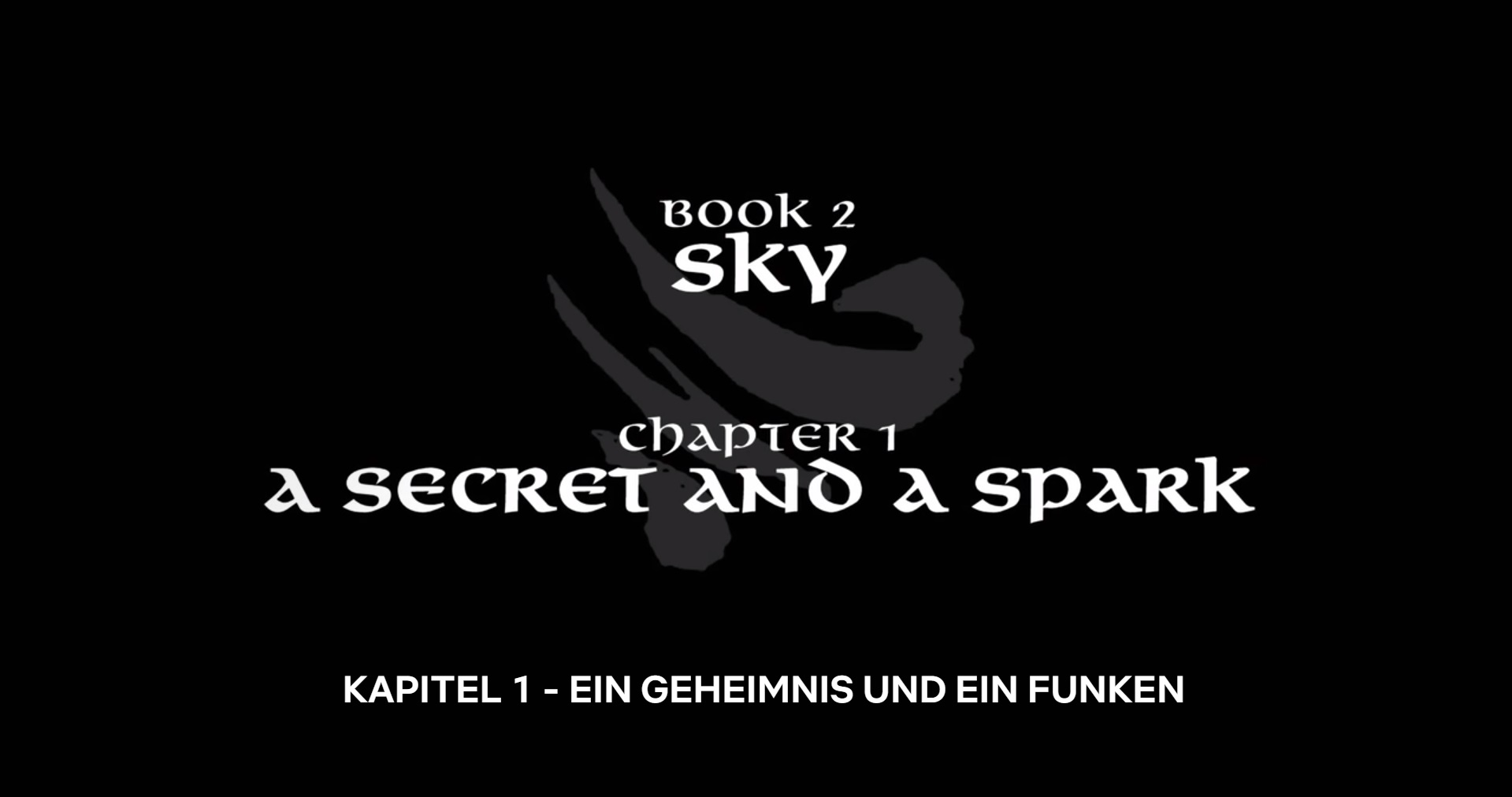 Ein Geheimnis und ein Funken