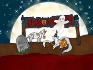 Dessin d'Echo Halloween