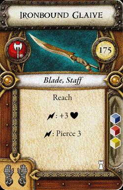 Ironbound Glaive