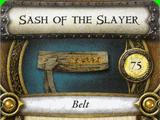 Sash of the Slayer