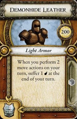 Demonhide Leather