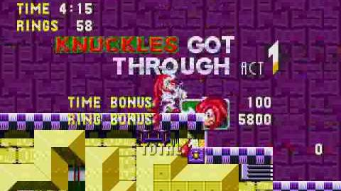 Sonic 3 & Knuckles - Launch Base Zone (Knuckles)