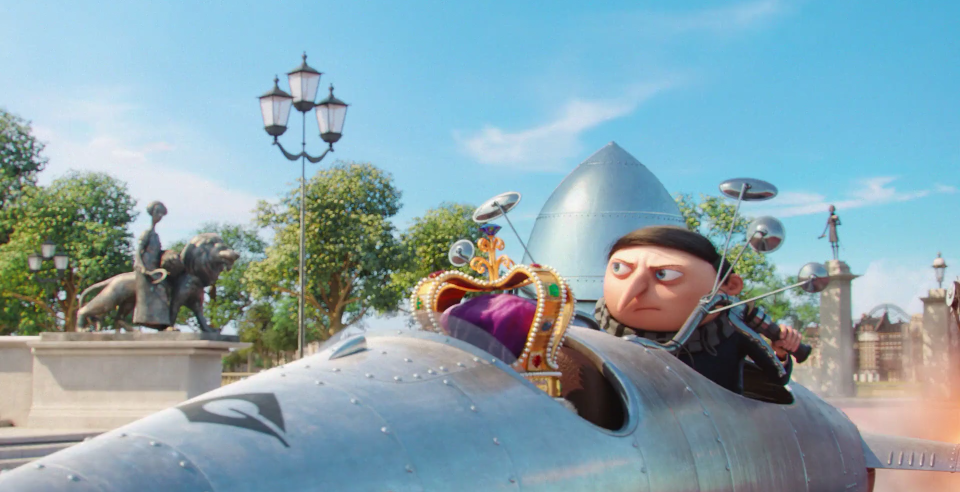 Gru's Flying Scooter