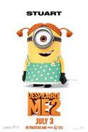 DESPICABLE-ME-2-Stuart-The-Minion-Poster