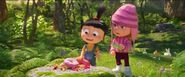 Despicable M3 Agnes and Edith
