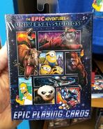 The Epic Adventures at Universal Studios Playing Cards