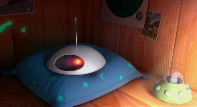 Miniature UFO