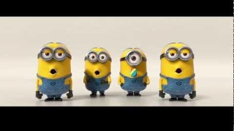 Despicable Me 2 Minions Banana Song (2013) SNSD TTS-2