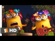 Despicable Me 3 (2017) - A Minion Luau Scene (2-10) - Movieclips