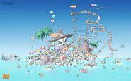 Minion Beach Concept Art
