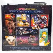 The Epic Adventures at Universal Studios Autograph Photo Book