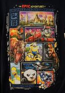 The Epic Adventures at Universal Studios T-Shirt