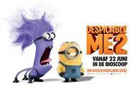 Despicable Me 2 Evil Minion and Minion Movie Poster