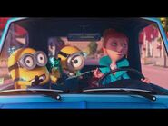Lucy wilde first meeting with gru --despicable-2--minions